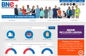 Pagina para buscar empleos en chile bne