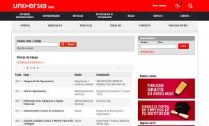 Pagina para buscar empleos en chile universia
