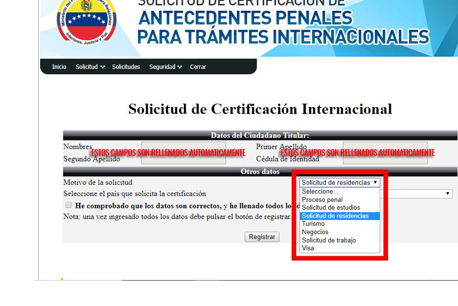 Super Guía Solicitar Antecedentes Penales Venezuela 2020