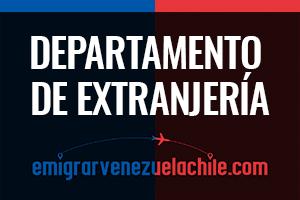 Tramites de extranjería de chile