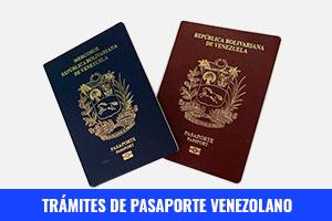 Tramites De Pasaporte Venezolano